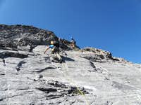 Slabs on Peak 3 - Goat Traverse