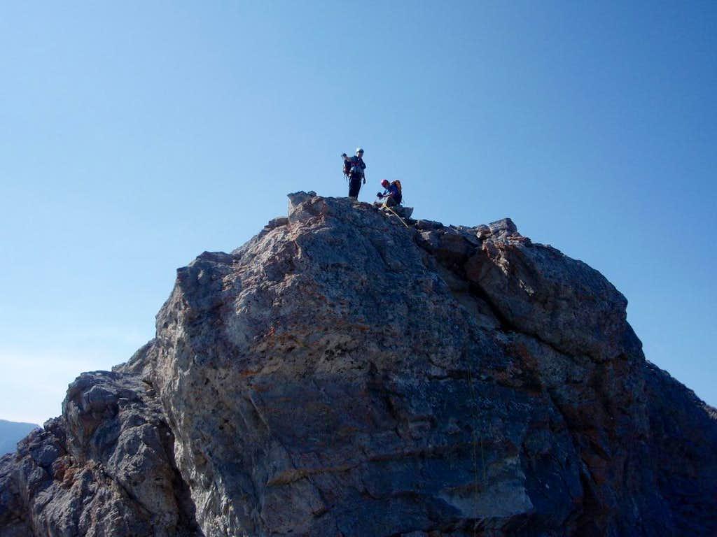 First Rapell on ridge - Goat Traverse
