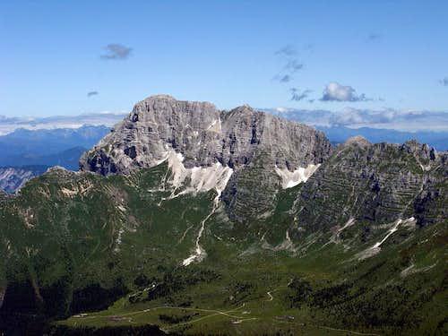 Jôf di Montasio/Montaž (2.754 mtrs)