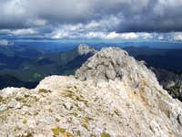 The peak of Ojstrica