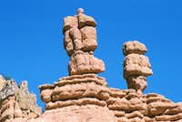 Red Canyon Watchmen near Bryce UT