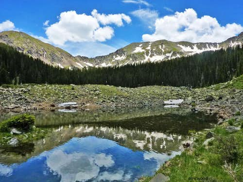 Bighorn Peak Reflection