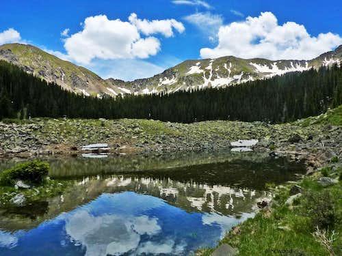 Bighorn Peak Reflection