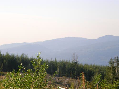 West Tiger and East Tiger summits.