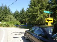 McDonald Mountain Trailhead.