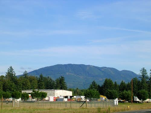 McDonald Mountain from Ravensdale.