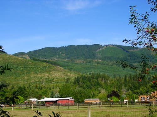 McDonald Mountain from Retreat-Kanaskat Road