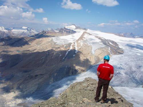 Wapta Icefield from Niles