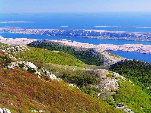 View from Matijevic Brijeg