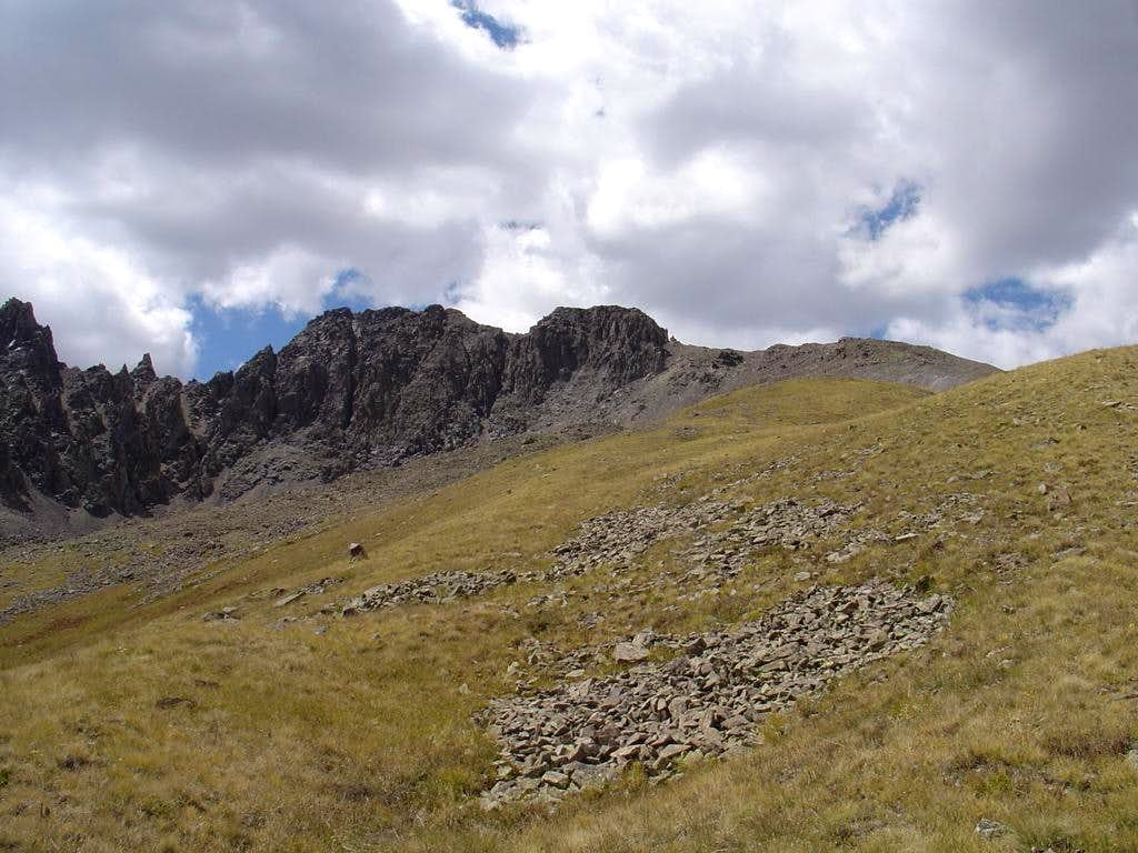 "East Slopes of ""Quarter Peak"""