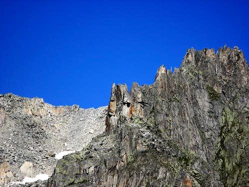 Chli Bielenhorn - the W ridge