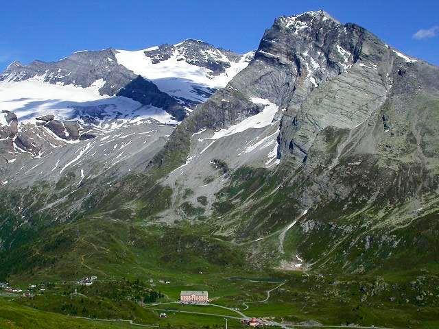 Hübschhorn seen from the W