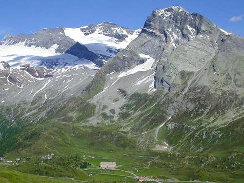 Hübschhorn seen from the W