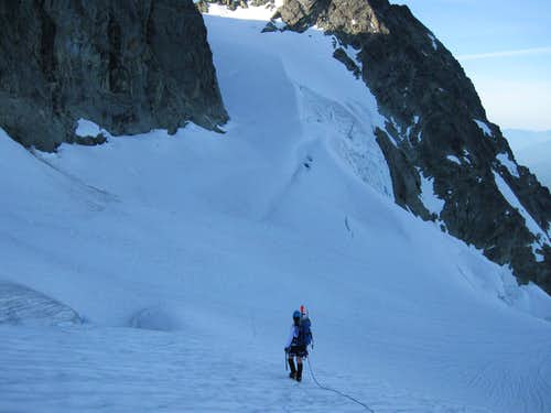 Shuksan-Along upper Curtis. Hell's Highway in back 7-4-09