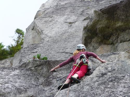 Freeway, 5.11d, 10 pitches