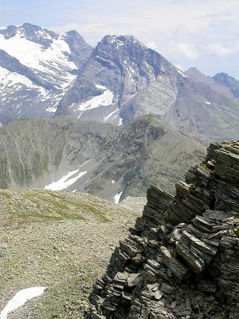 Hübschhorn viewed from the...