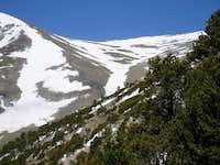 Taken from the east ridge...