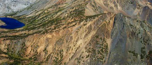 Epidote Peak from Peak 11568