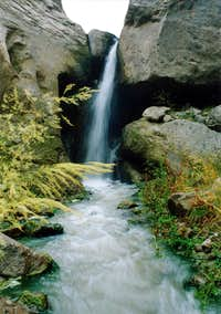 A Small Waterfall in Shirvan Valley