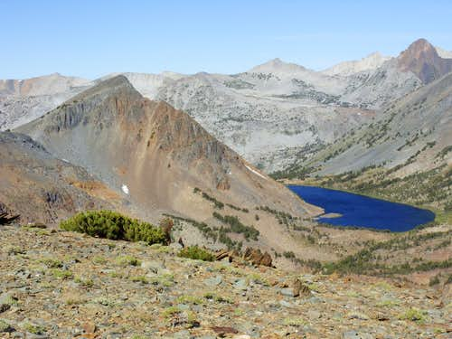 Peak 11260 above Summit Lake