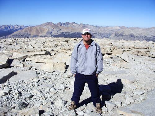 Atop Mount Whitney on Labor Day 2009
