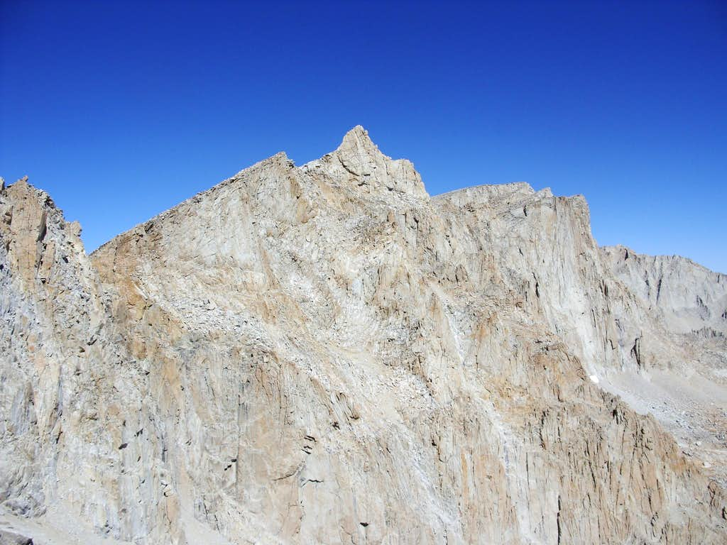 Mount Muir from the Whitney Trail Labor Day 2009
