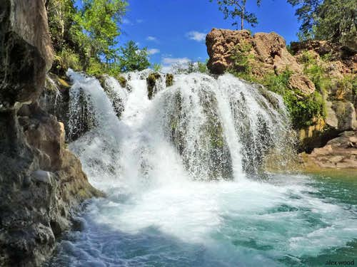 Fossil Creek Waterfall