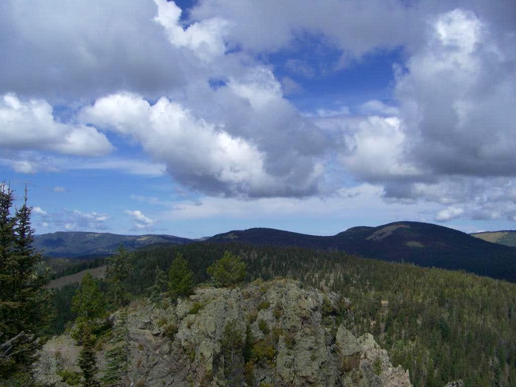 Cerro Toledo from Shell Mtn
