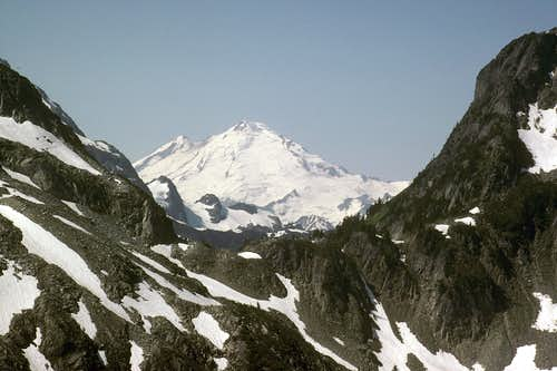 Mount Baker from North Ridge of Ruth