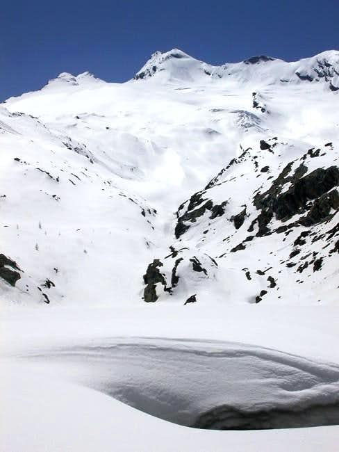 il ghiacciaio di Château Blanc