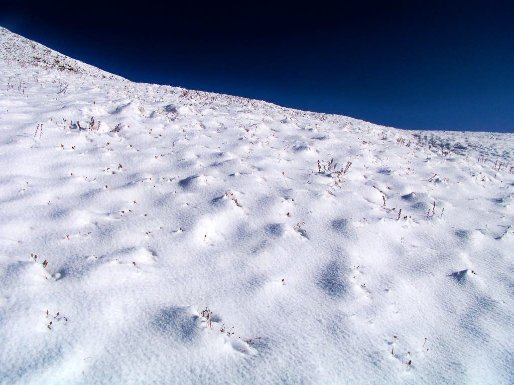 snow dusted tundra   photos  diagrams  u0026 topos   summitpost
