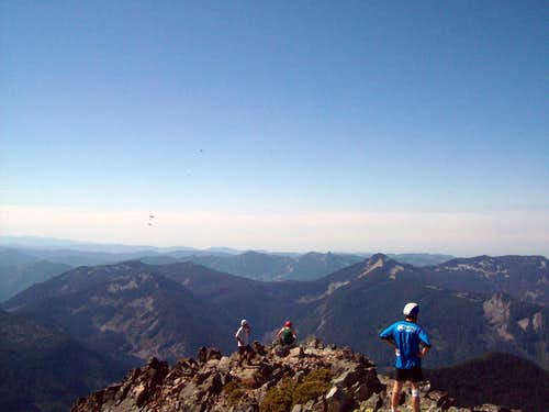 Kaleetan Peak Summit Views