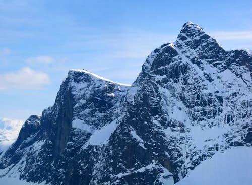 Nordøstveggen (NE Face) of...