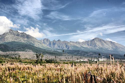 Summer's End in High Tatras