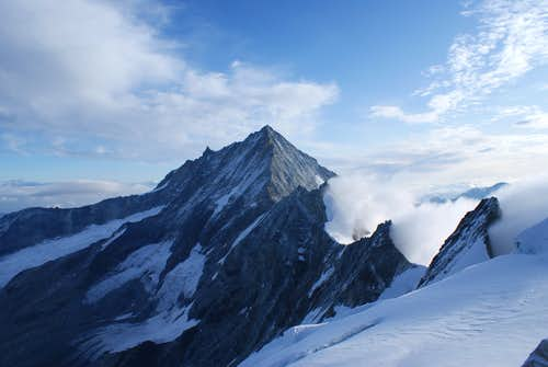 Weisshorn with its Shali-ridge