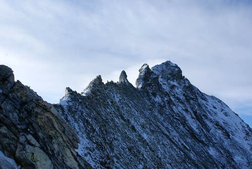 Zinalrothorn North-ridge