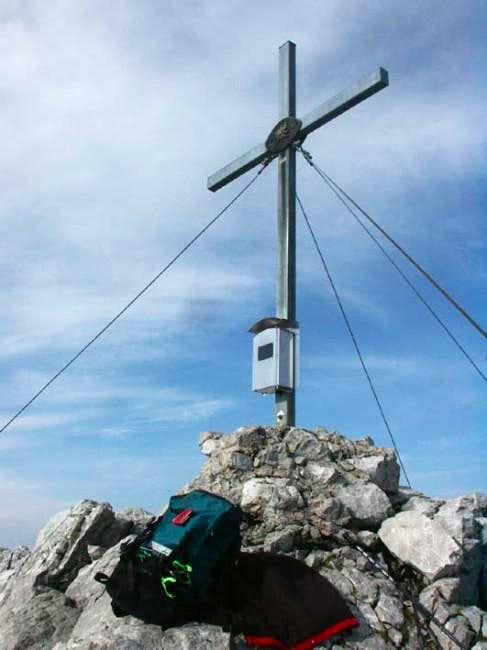 Summit of Hinterer Goinger...