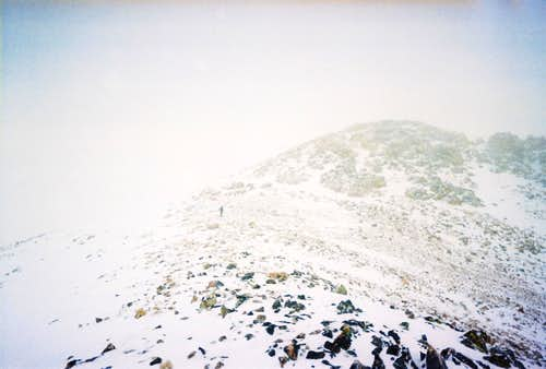 East Ridge near the Summit