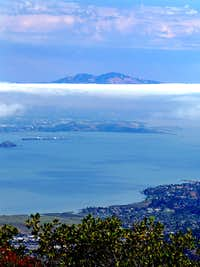 Mt. Diablo from Mt. Tam