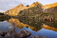 Morning Reflection near Blodgett Lake