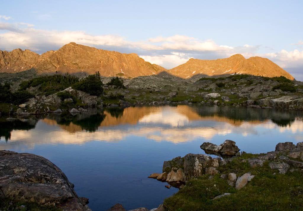 Sunset near Blodgett Lake