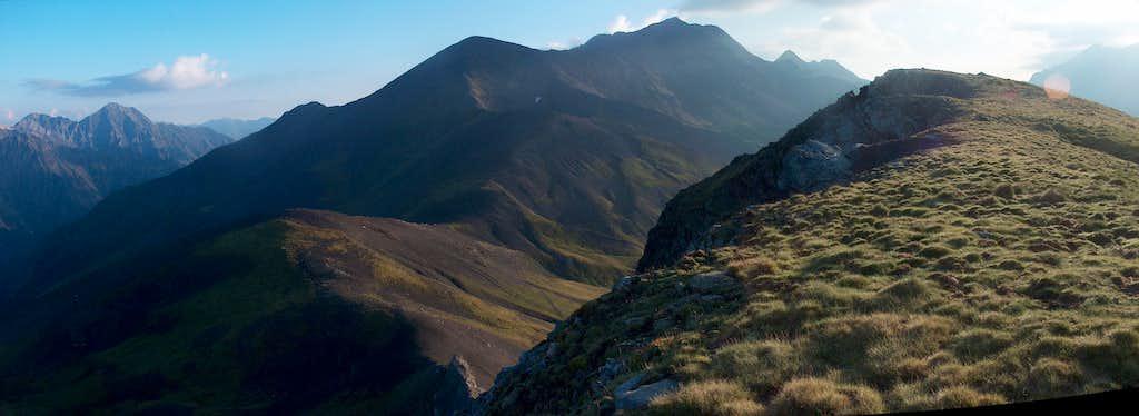 On the top of the Pène de Millarioux