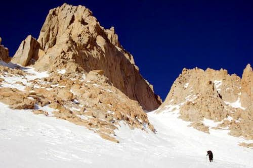Entering the Couloir on a...