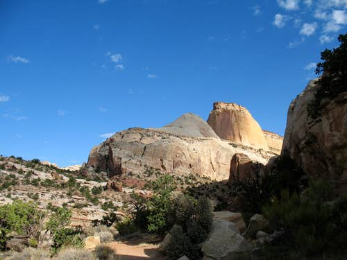 Capitol Reef s Golden Throne