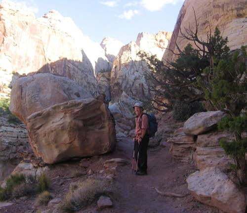 Capitol Reef - on Golden Throne trail