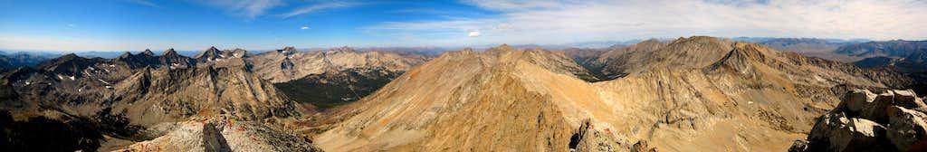 Brocky Summit Panorama