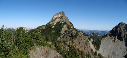 Kaleetan Peak and Melakwa Pass