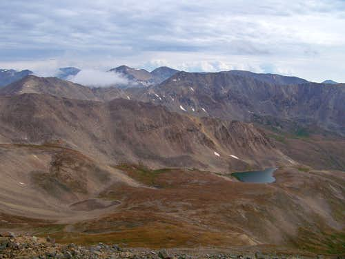 Cooney Lake, Upper Mosquito Creek basin