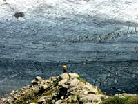 Envers...before crossing Mer de Glace