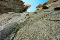 Climbing in Pnte Adolphe Rey